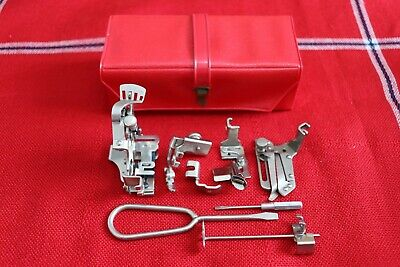 Singer 201K Red PVC Sewing Machine Accessory Box