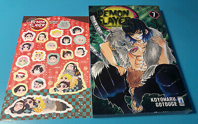 Fumetto Manga Demon Slayer 7 Italiano