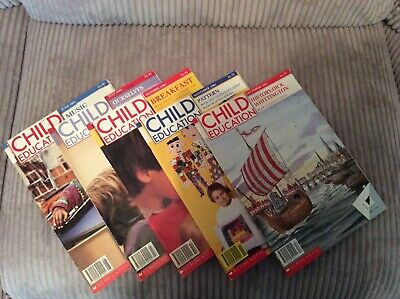 Child Education Magazines - Job Lot From 1991 - In Good Condition