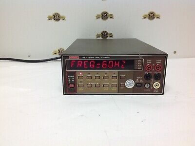 Keithley 199 System DMM/Scanner Test equipment