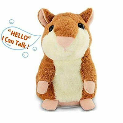 Szresm Top Quality Electronic Plush Cute Talking Hamster Repeats What You Say