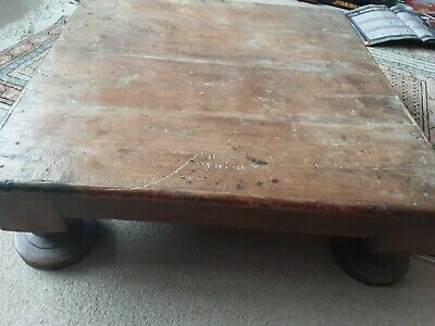 Early 19th Century Solid  Indian Low Table