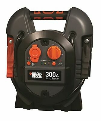 BLACK+DECKER J312B Power Station Jump Starter 600 Peak/300 Instant Amps USB Port
