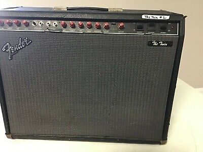 """Fender """"THE TWIN"""" Red Knob Guitar Combo Amp"""