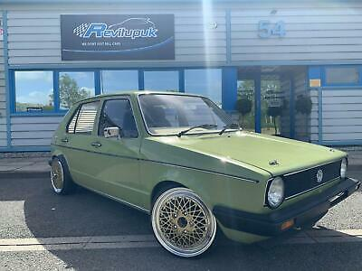 1982 Vw Golf + 3.2 Vag Conversion + Show Winning + Retro One Off Classic + Wow