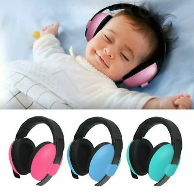 Kids Baby Folding Ear Defenders Ear Muff Noise Reduction Protector Adjustable