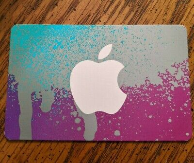 APPLE iTUNES GIFT CARD PHYSICAL CARD DELIVERED *VALUE OF CARD UNKNOWN*