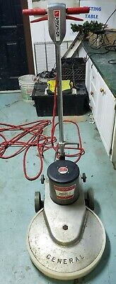 "**General 2000DC-1 20"" 1500 rpm 1.5HP Floor Burnisher"