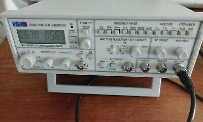 AIM-TTI INSTRUMENTS - TG330 - FUNCTION GENERATOR , 3 MHz *TESTED*