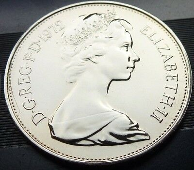 1972 Royal Mint Crowned Lion Large PROOF Ten Pence 10p Coin hunt NEVER ISSUED ##