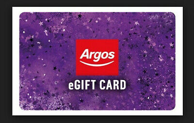 Argos electronic Gift Card £500 value - use online or in store