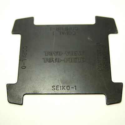 Genuine Toyo View Lens Retaining Ring Removal Tool. Copal 0,1 and Seiko 0,1