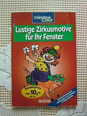 WINDOW COLOR  Lustige Zirkusmotive