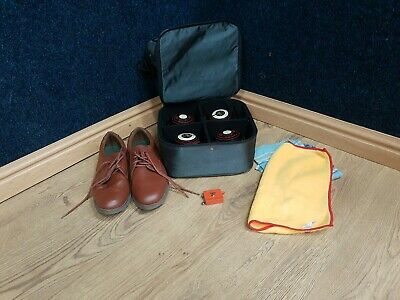 Drakes Lawn Bowls & acclaim bag, size 10 shoes & accessory's.