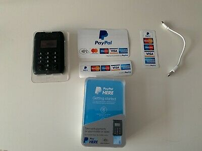 PayPal Here Contactless Card Reader - Excellent Condition - Accessories Included
