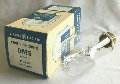 G.e. Dms Projector Lamp : New Old Stock : 500W - 120V