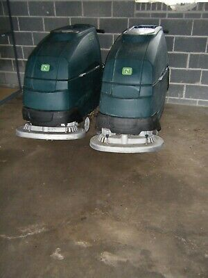 2 Tennant/Nobles Speed Scrub Floor Cleaning Machines