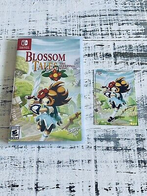 Blossom Tales The Sleepy King Limited Run Games #56 Nintendo Switch Sealed New