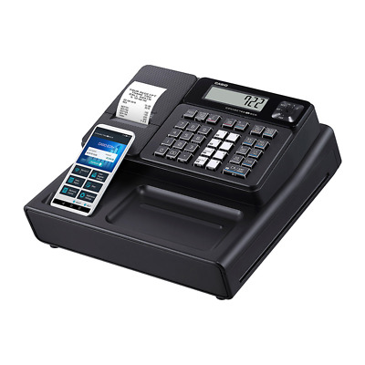 Casio SM-T277 Entry-Level Cash Register with Bluetooth & Customer Display Black
