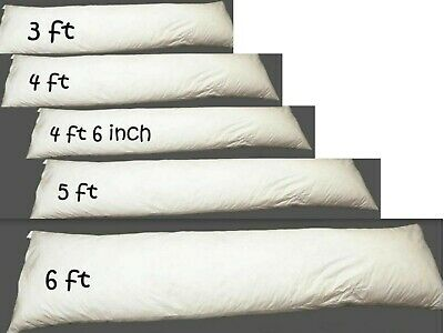 Extra Filled Bolster Pillow Orthopaedic Support Maternity Pregnancy LongCushion