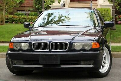 2000 BMW 7-Series 740iA 4dr 740i Sedan 2000 BMW 7 Series 740iA 4dr 740i Sedan Automatic 5-Speed RWD V8 4.4L Gasoline