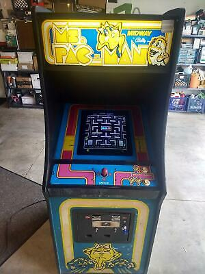 Ms Pac Man Arcade Game Original 1981 Bally Midway *Works*