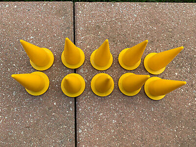 COX 2N1006 Yellow Nozzle Cones 10 PACK for 20-oz Caulking Gun Sausage Tips