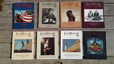 Four Winds Magazine- 8 Issues from 1980-82