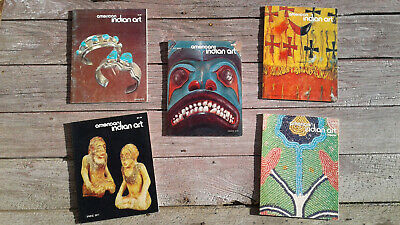 American Indian Art Magazine - 5 early issues