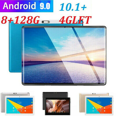 """4G-LTE  10.1"""" 8+128G Android 9.0 HD Screen Dual SIM Calling Tablet UK"""