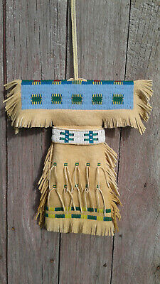 Plains Indian Style Doll Dress- Reproduction