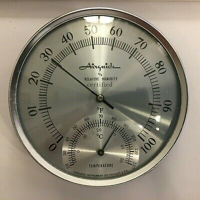 Vintage Airguide Barometer & Thermometer