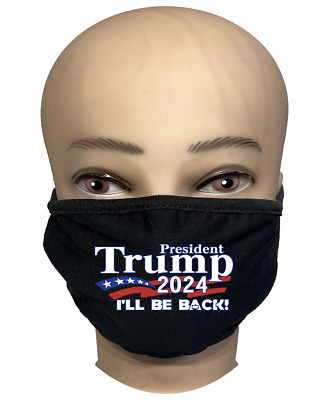 TRUMP 2020 KEEP AMERICA GREAT  Reusable Washable Cotton Protection Face Mask LOT