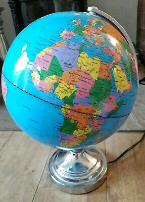 World Globe Light Up