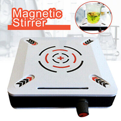 2500RPM Magnetic Stirrer Mixer Machine Laboratory EU Power Plug 1L 12V UK SHOP