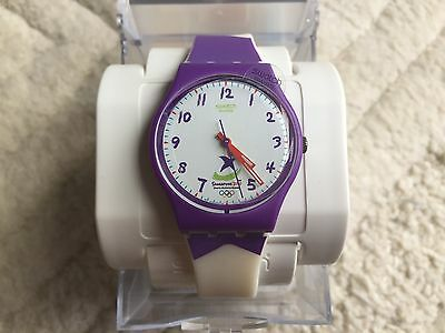 Very Rare Swatch Singapore Youth Olympic Games Special Watch Gz224 Climb The Top