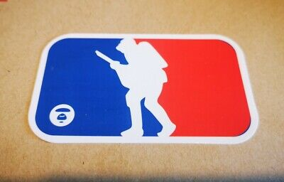 Vinyl Bape Bathing Ape and NBA Logo Sticker Skateboard/Laptop/BMX Designer Brand