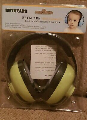 BBTKCARE Mini Earmuffs Built For Kids Ages 3 Months & Up