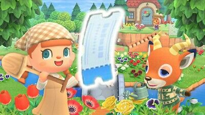 Super Fast Delivery!!!🎫 400 NOOK MILE Tickets 🎫- Animal Crossing New Horizon!!