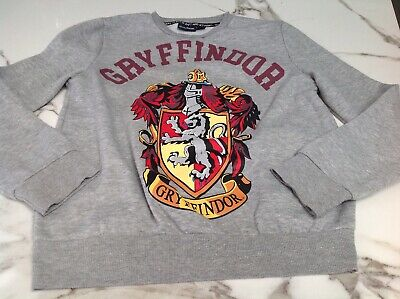 Gryffindor Grey Girls / Boys Harry Potter Sweatshirt Approx 12 Years