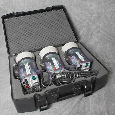 Elinchrom Style 600Rx, 3 Head Flash Kit & Hard Case In Excellent Condition.