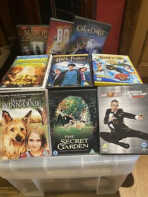 100 X dvd wholesale joblot bundle carboot market trader  mixed boxes