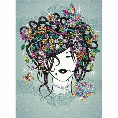 Table Sequin Art The Beautiful by The Bouquet - Sequin Art