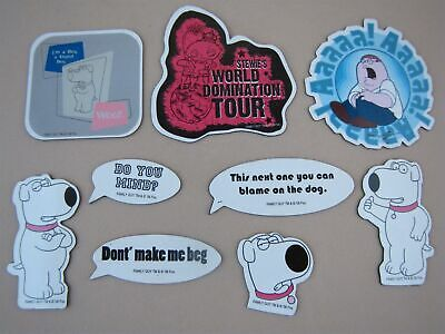 Family Guy Refrigerator Magnets Lot