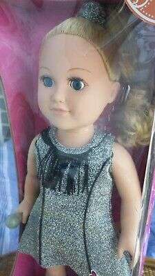 My Life As 18 inch Doll Pop Star Vedette pop Blue eyes Blonde Fashion dolls New