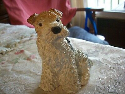 Soft Coated Wheaten Dog  5 by 4 in.     StoneCast