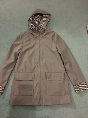 Girls Grey Shower proof jacket from NEW LOOK - age 10-11 years