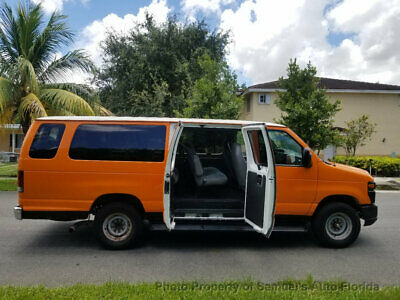 2010 Ford E-350  15 PASSENGER 1 OWNER FLORIDA CLEAN MAINTAINED conversion b3500 SHUTTLE CARGO