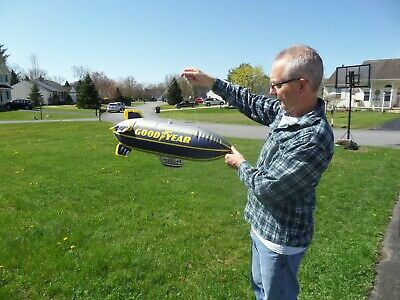 Goodyear tires blimp inflatable advertising
