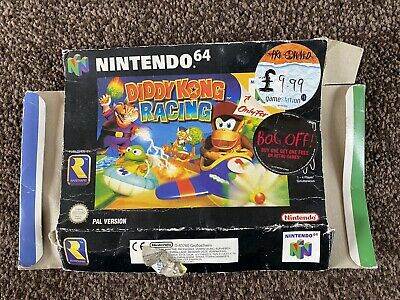 Diddy Kong Racing n64 BOX Only - NO GAME